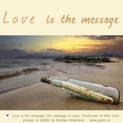 Love is the message_CARD