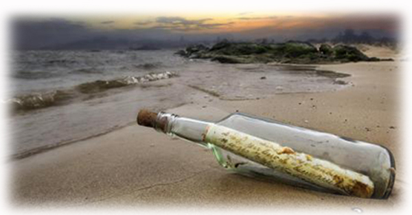 message in a bottle breed web