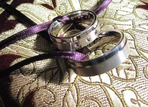 trouwringen met amethist by GEMH